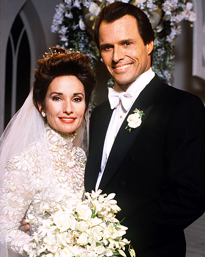 Erica Kane and Dimitri Marick - All My Children - Susan Lucci and Michael Nader