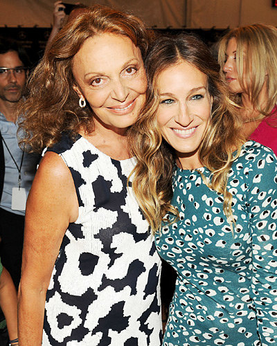 Sarah Jessica Parker and Diane von Furstenberg - New York Fashion Week