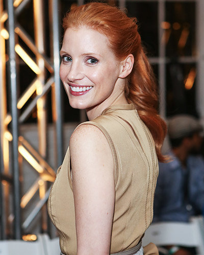 Jessica Chastain - New York Fashion Week