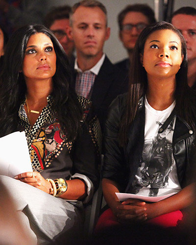 Rachel  Roy and Gabrielle Union - New York Fashion Week