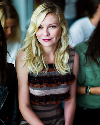 Kirsten Dunst - New York Fashion Week