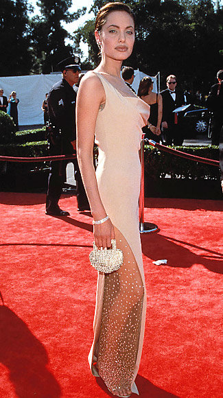 Sexiest Emmys Looks Ever - Angelina Jolie - Randolph Duke