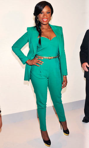 Jennifer Hudson - New York Fashion Week