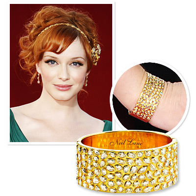 Emmys Jewelry - Christina Hendricks - Neil Lane