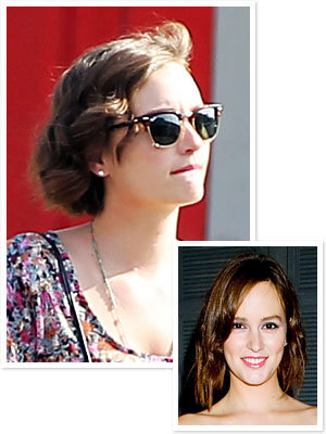Leighton Meester Haircut