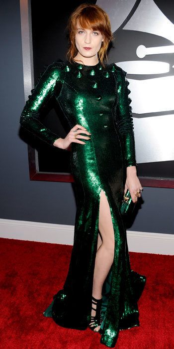 Florence Welch at Grammys 2013