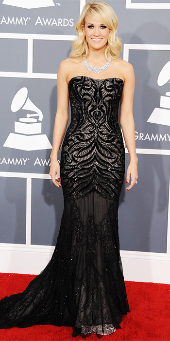Carrie Underwood at Grammys 2013