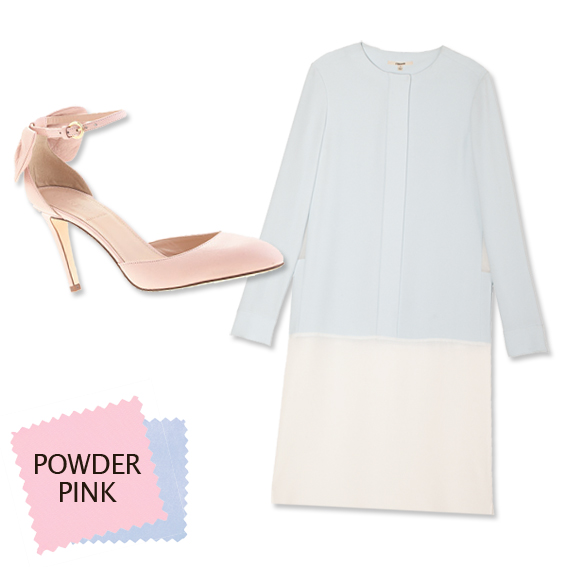 Ice Blue + Powder Pink