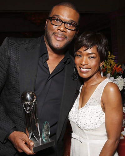 Tyler Perry and Angela Bassett
