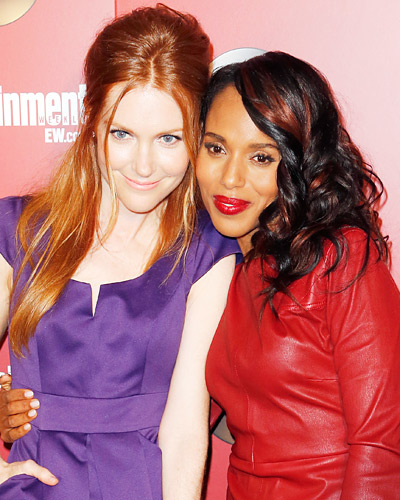 Darby Stanchfield and Kerry Washington