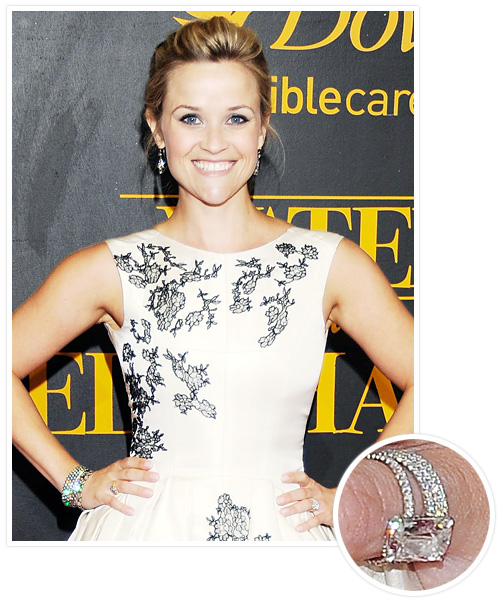 Biggest Celebrity Engagement Rings - Reese Witherspoon and Jim Toth
