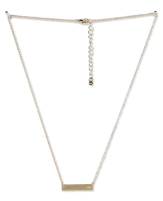 Urban Outfitters bar necklace