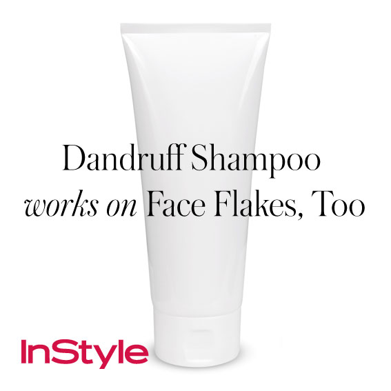 20 tips - Dandruff Shampoo Works on Face Flakes, Too
