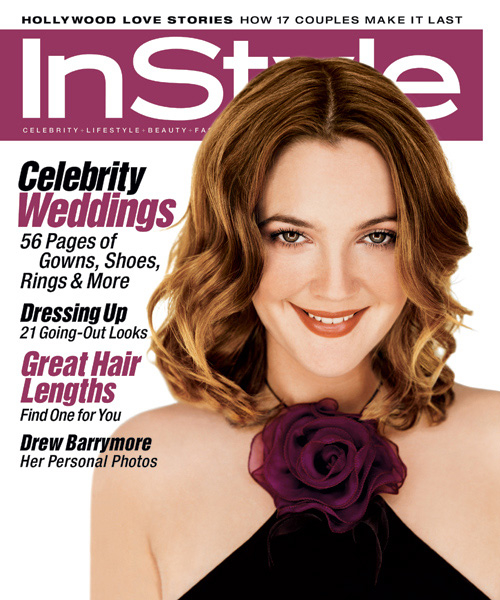 InStyle Covers - Drew Barrymore