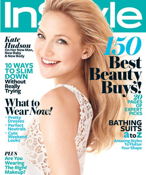 InStyle Covers - May 2011, Kate Hudson
