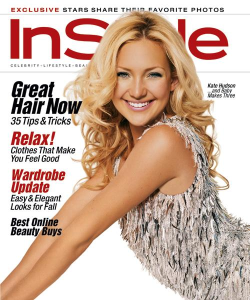 InStyle Covers - Kate Hudson