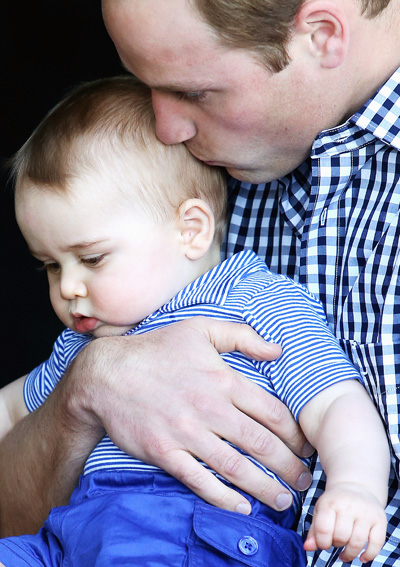 Prince George of Cambridge and Prince William, Duke of Cambridge