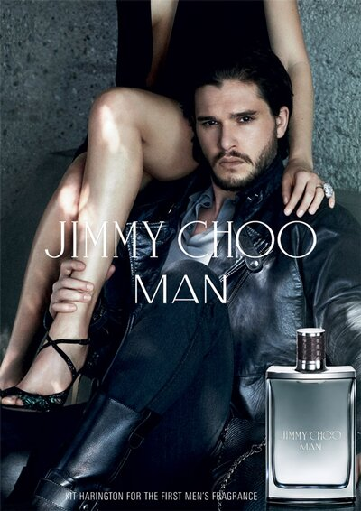 e29d9ca1e180 Kit Harington Smolders in New Jimmy Choo Fragrance Ad