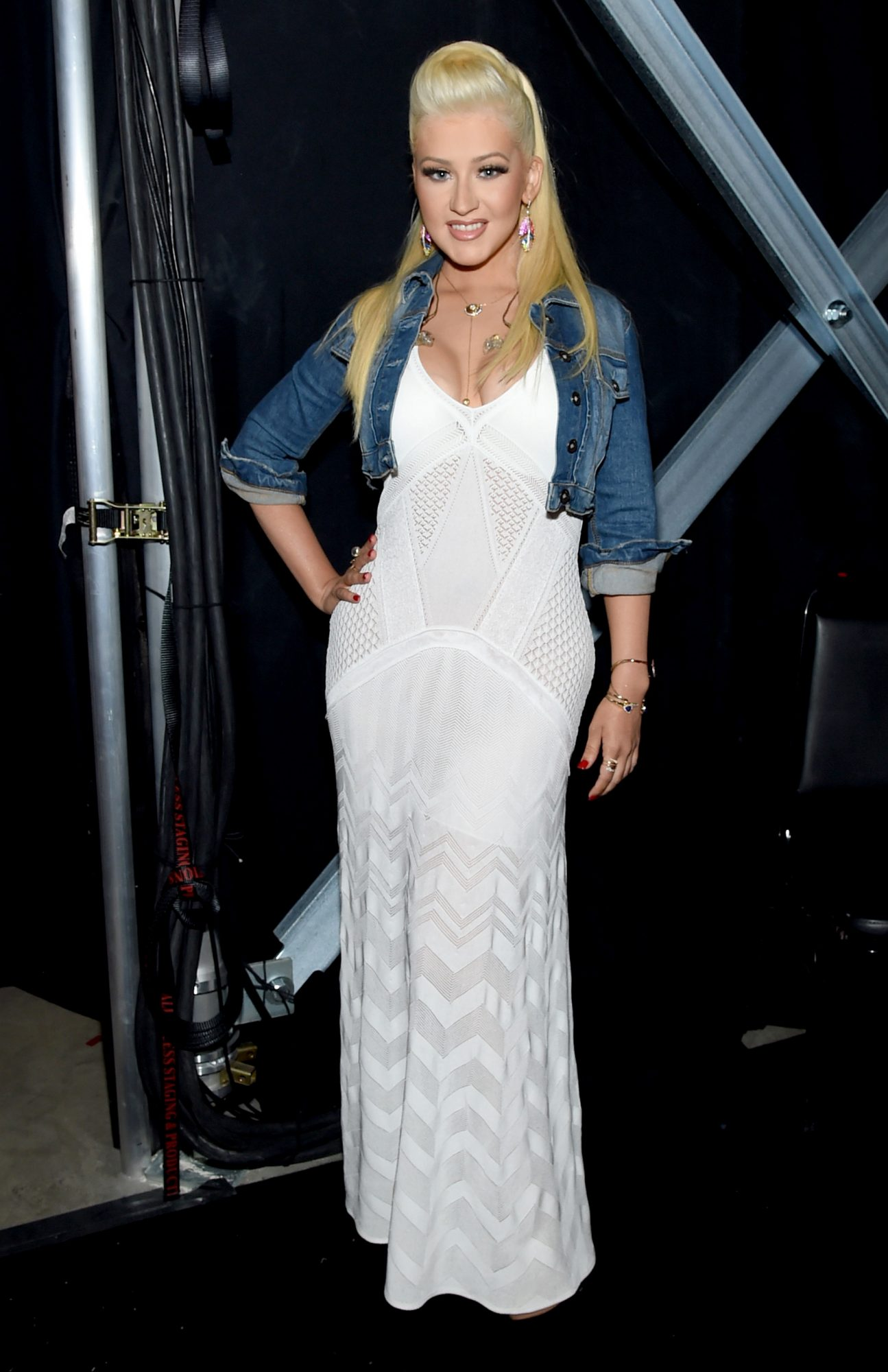 Christina Aguilera at the Academy Of Country Music Awards