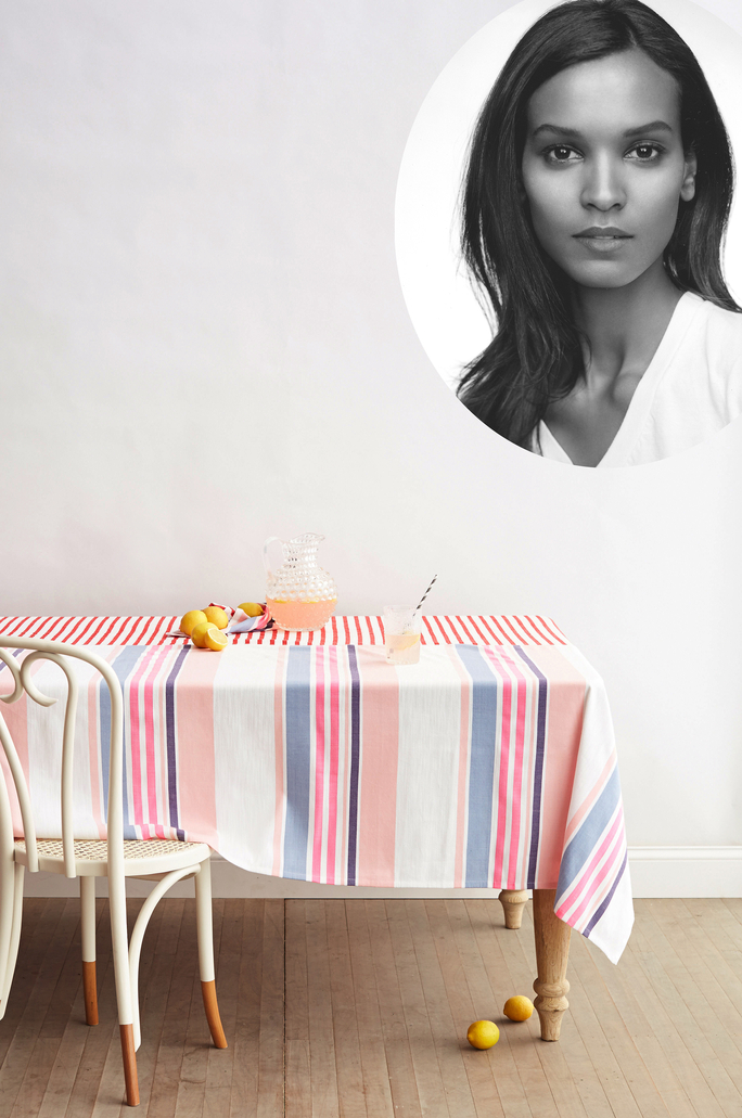 Liya Kebede/Table - Lead