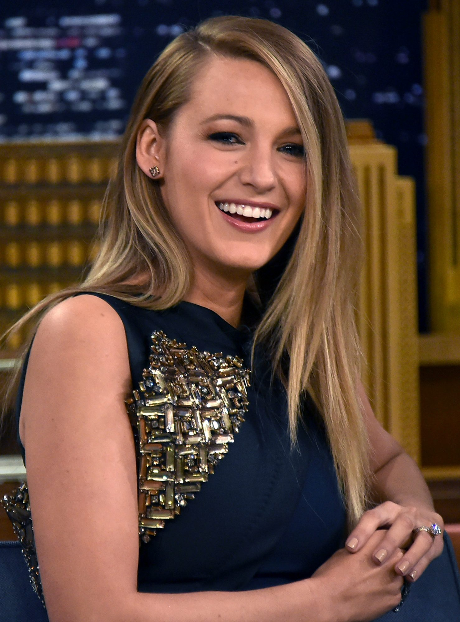 Blake Lively Visits  The Tonight Show Starring Jimmy Fallon