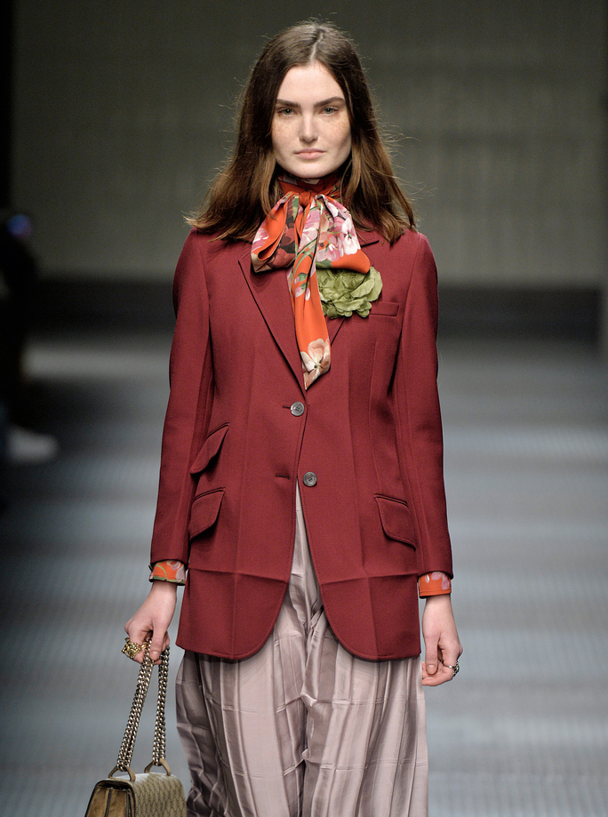 Gucci - Runway RTW - Fall 2015 - Milan Fashion Week