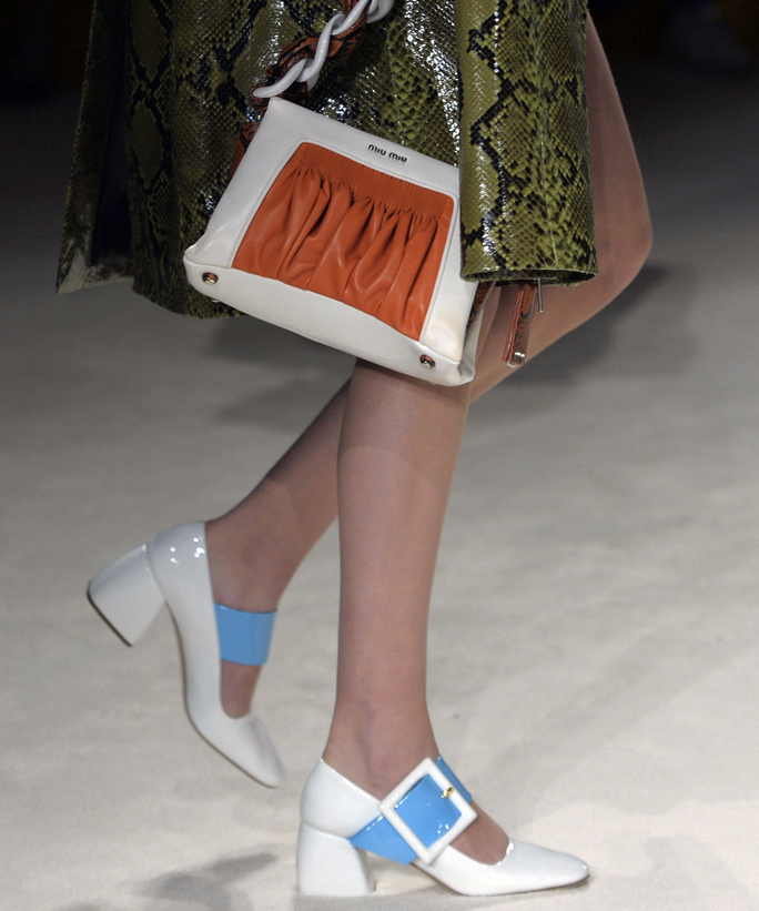 Miu Miu during the 2015-2016 fall/winter