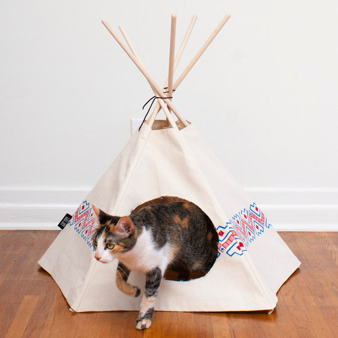 Cat Tipi Canvas Tent