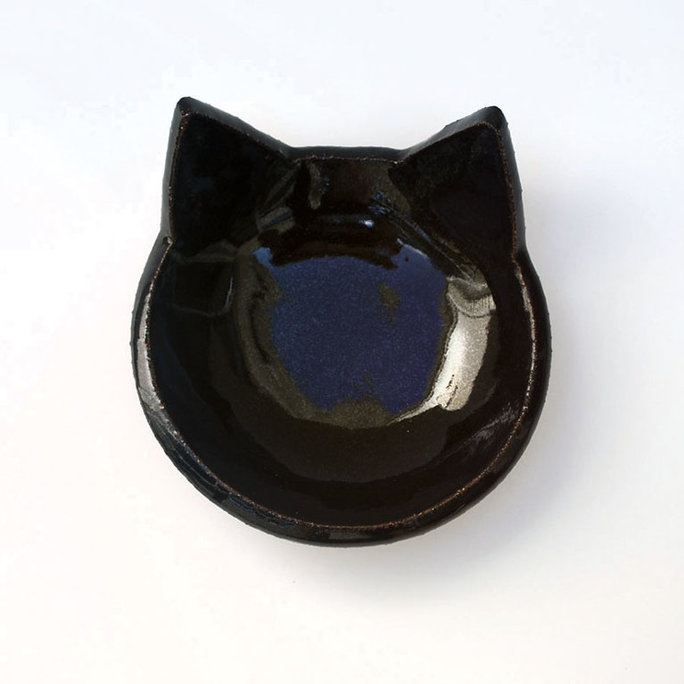 Lauren Sumner Pottery Cat Food Bowl