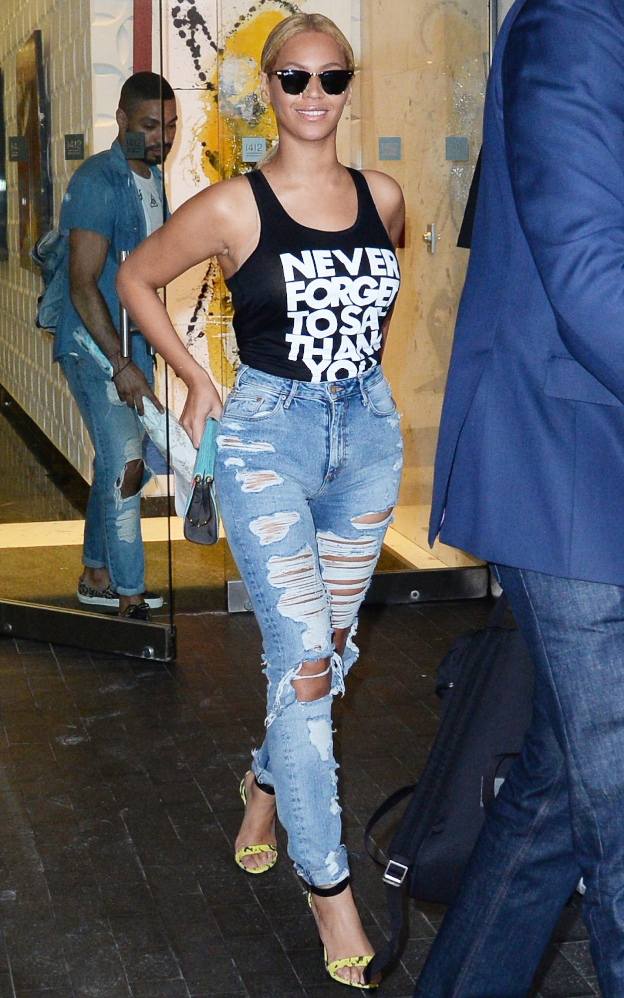 Beyonce High Waited Jeans