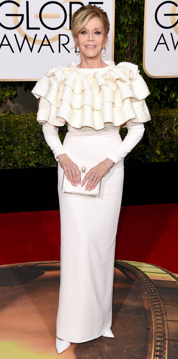 Jane Fonda Golden Globes 2016