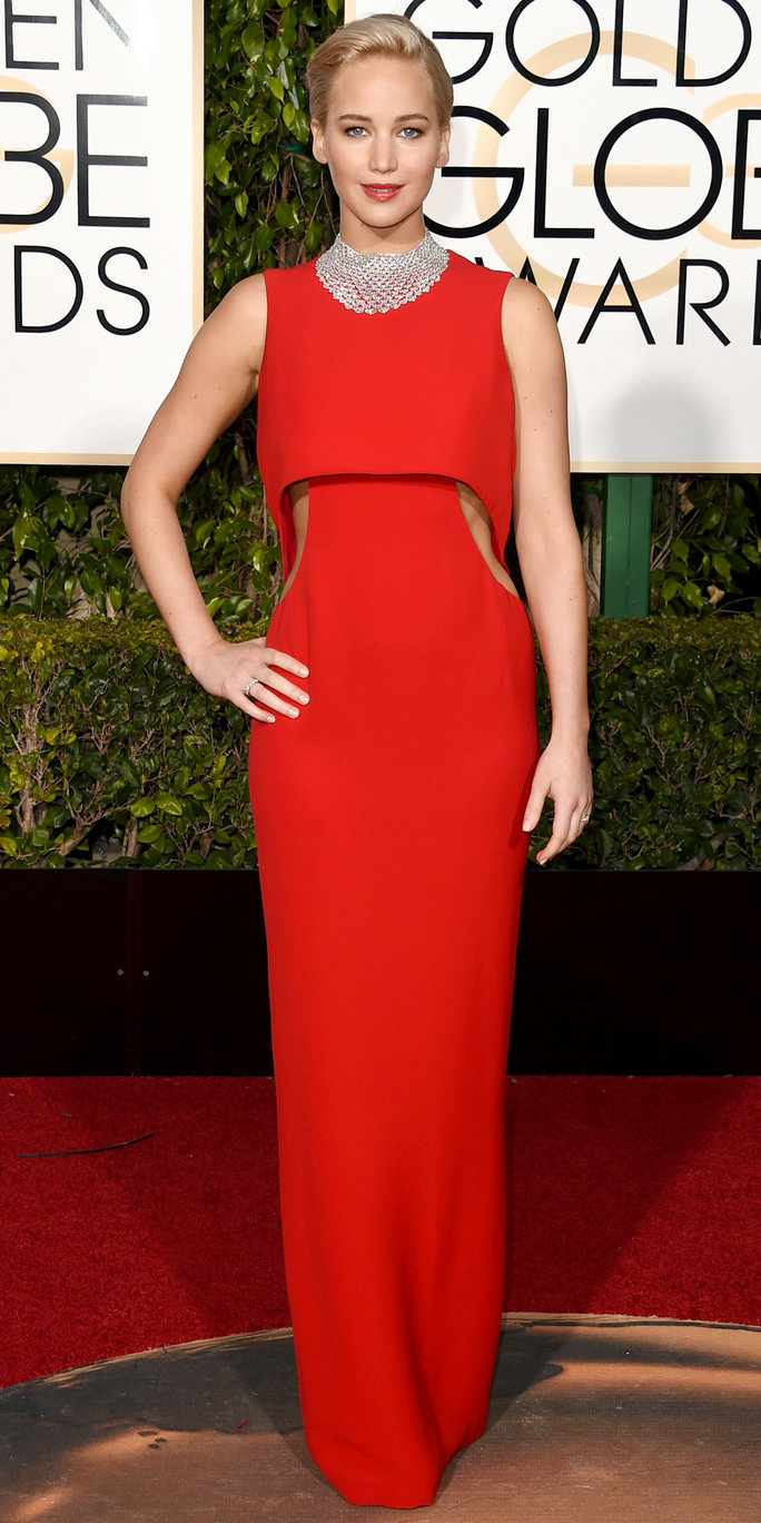 Jennifer Lawrence Golden Globes 2016