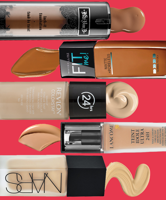 Oily Skin Foundations - Lead