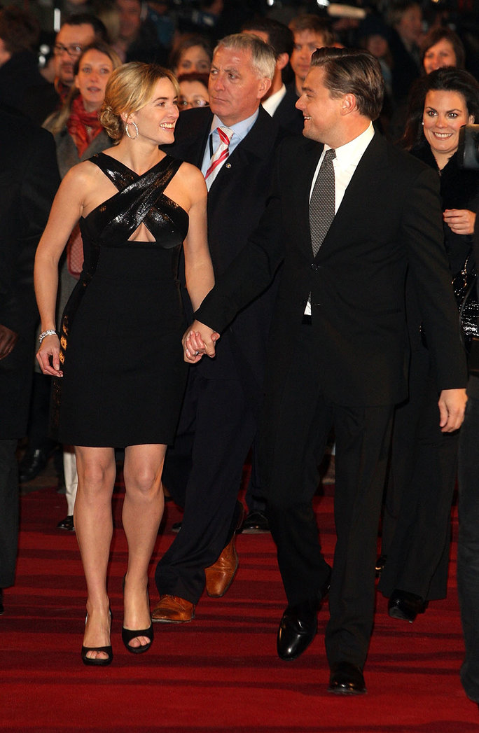 Kate and Leo at the London Premiere of Revolutionary Road