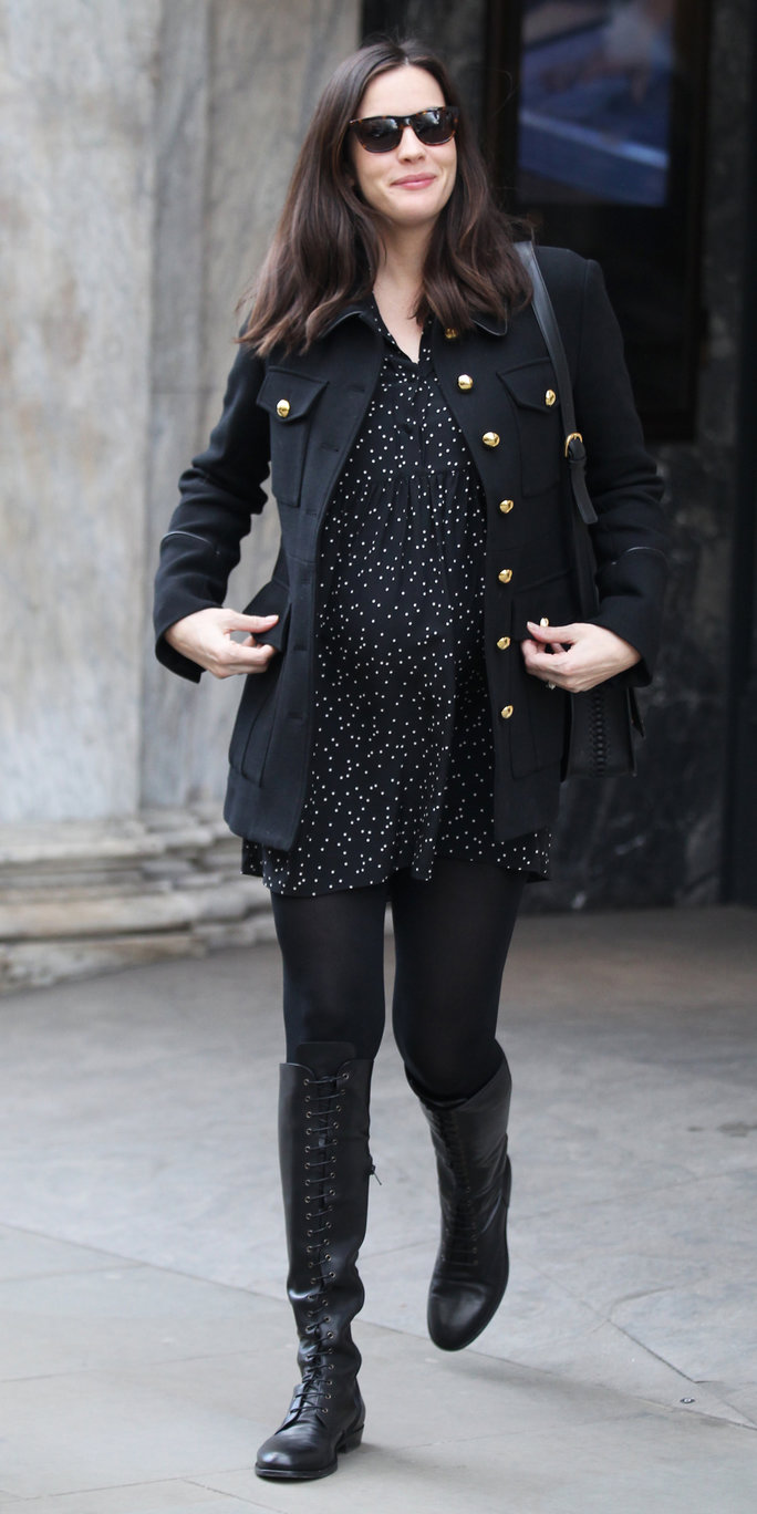 EXCLUSIVE ALLROUNDMandatory Credit: Photo by Beretta/Sims/REX/Shutterstock (5593740j)Liv TylerLiv Tyler out and about, London, Britain - 24 Feb 2016Seen at Belstaff, London