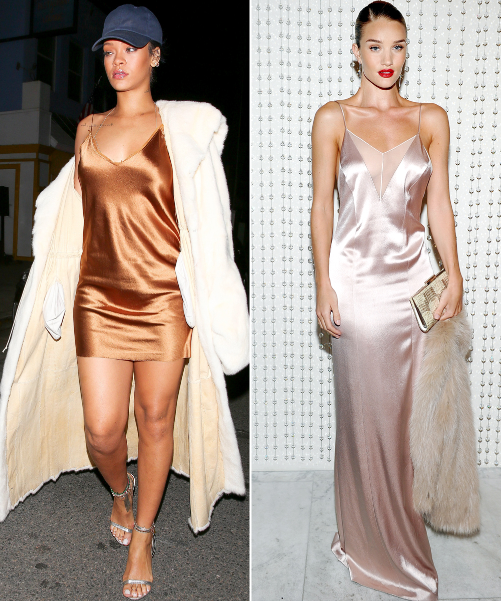 Celebs in Slip Dresses - LEAD