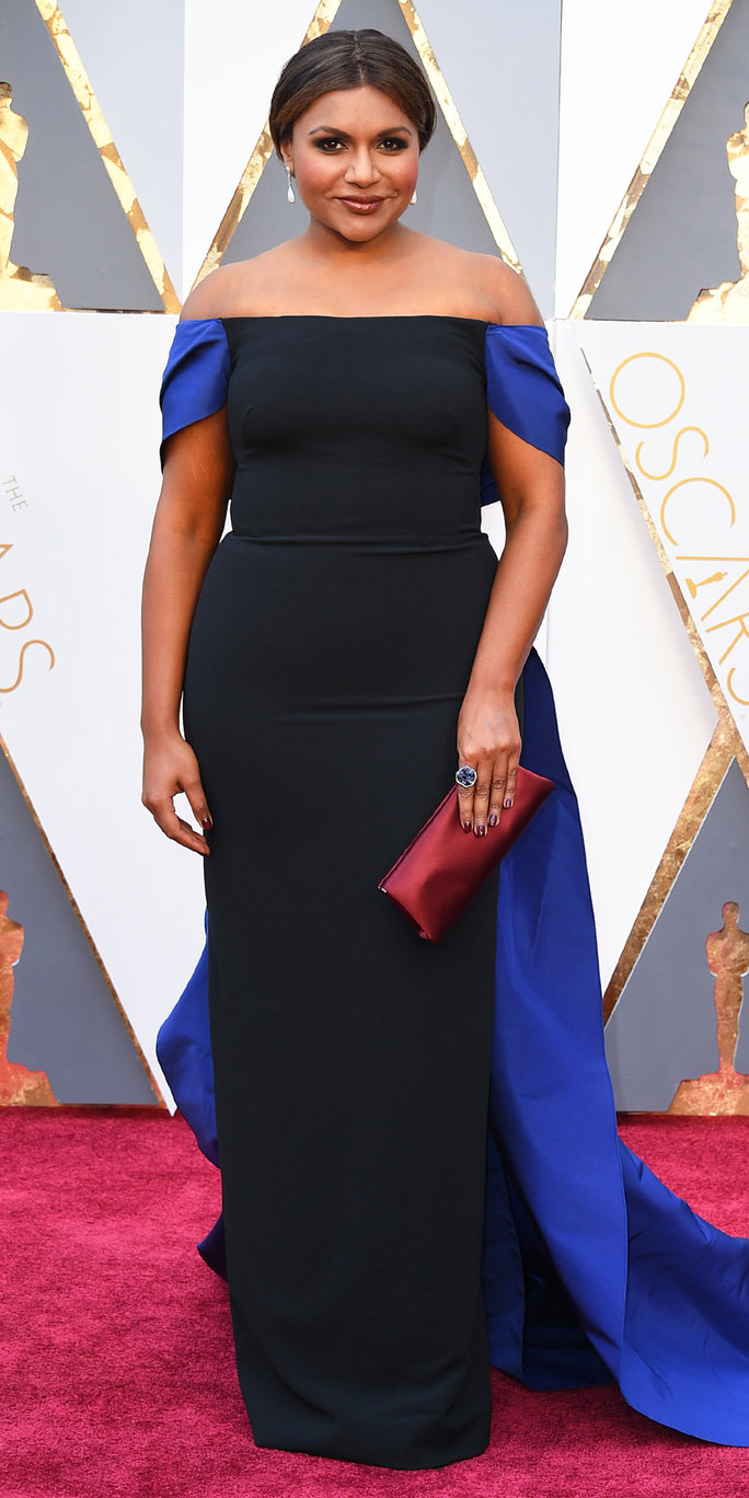Mindy Kaling in Elizabeth Kennedy
