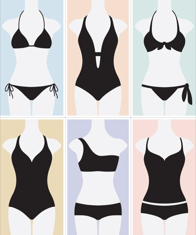 How to Find the Best Swimsuit for Your Body Type | InStyle com