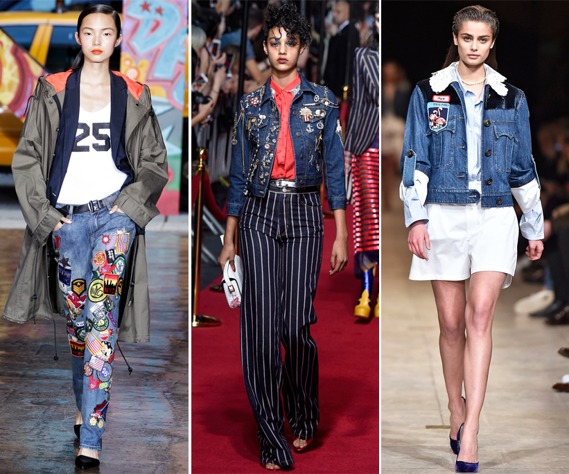 A Mini History of Patches on the Runway