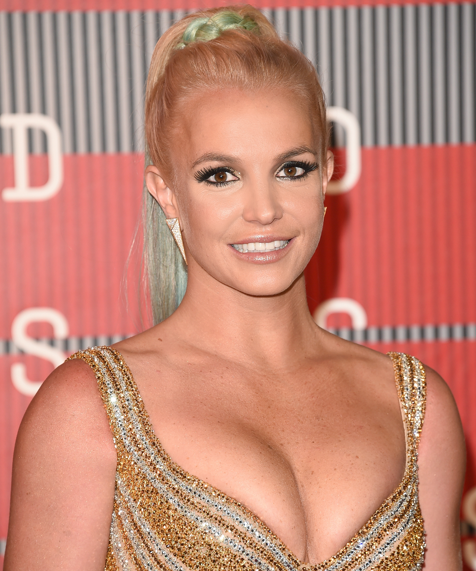 Singer Britney Spears attends the 2015 MTV Video Music Awards at Microsoft Theater on August 30, 2015 in Los Angeles, California.