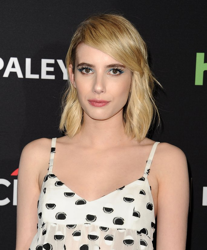 Actress Emma Roberts attends the 'Scream Queens' event at the 33rd annual PaleyFest.