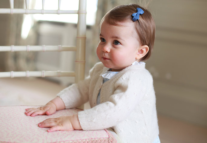 Princess Charlotte Looks Ready to Play