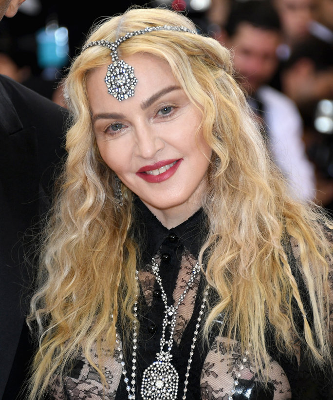 Madonna attends the 'Manus x Machina: Fashion In An Age Of Technology' Costume Institute Gala at Metropolitan Museum of Art on May 2, 2016 in New York City.