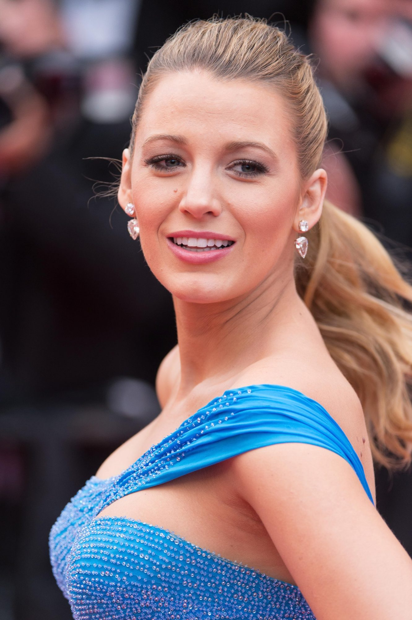 Blake Lively attends 'The BFG (Le Bon Gros Geant - Le BGG)' premiere during the 69th annual Cannes Film Festival.