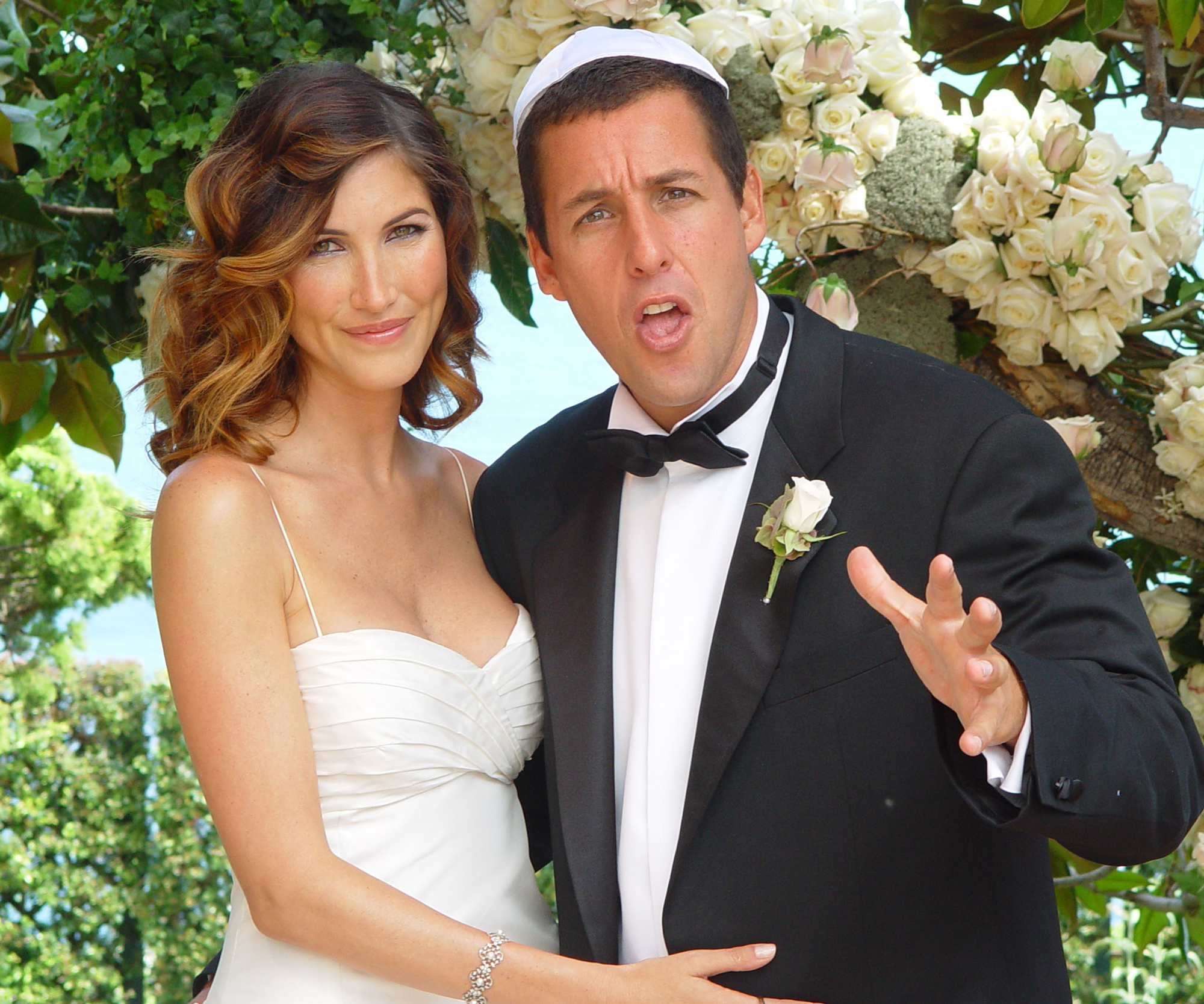 Adam Sandler and Jackie Titone