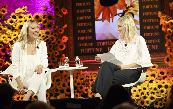 Kate Hudson and Laura Brown - Fortune