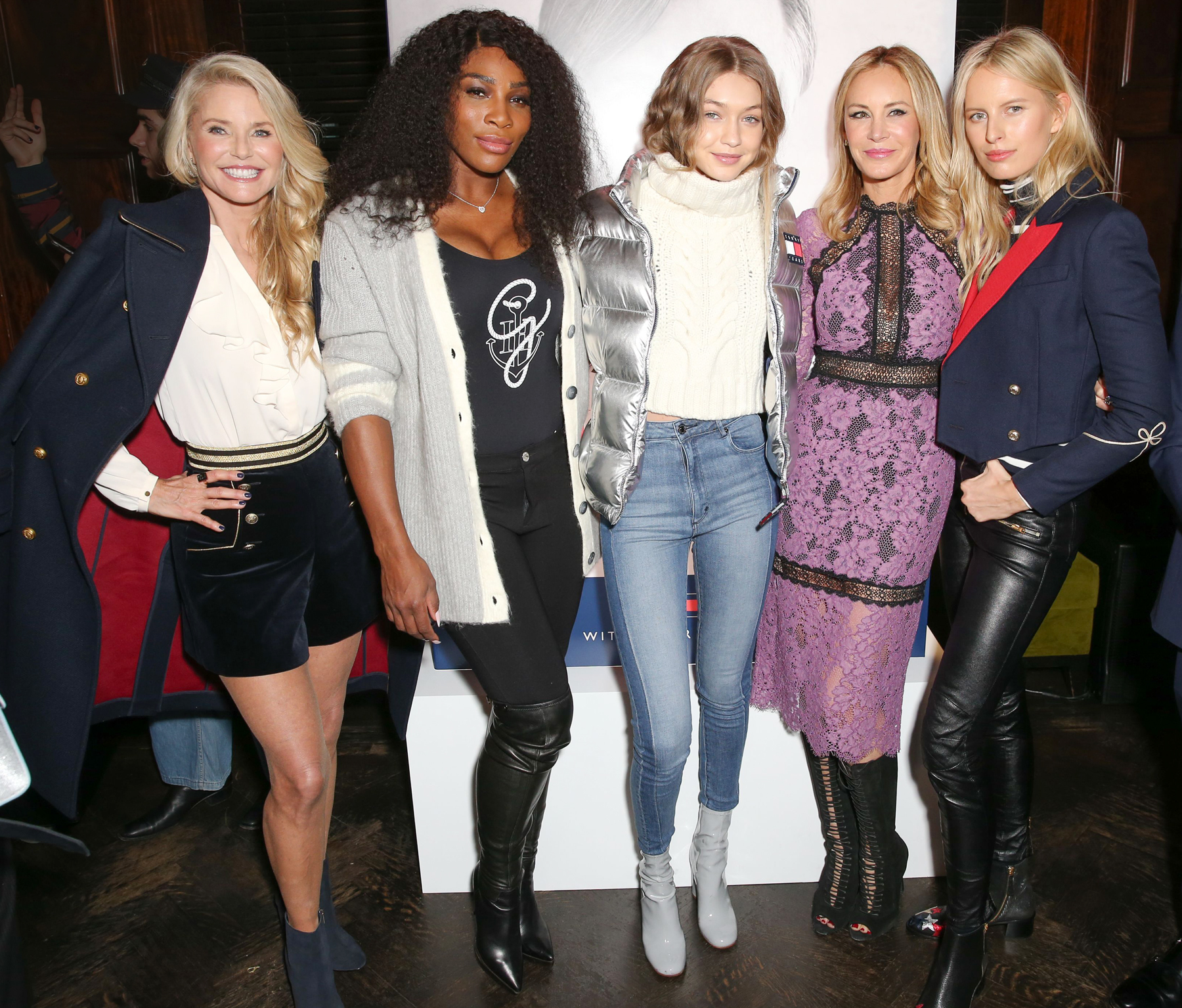 Gigi, Serena and Christie - Tommy Launch LEAD