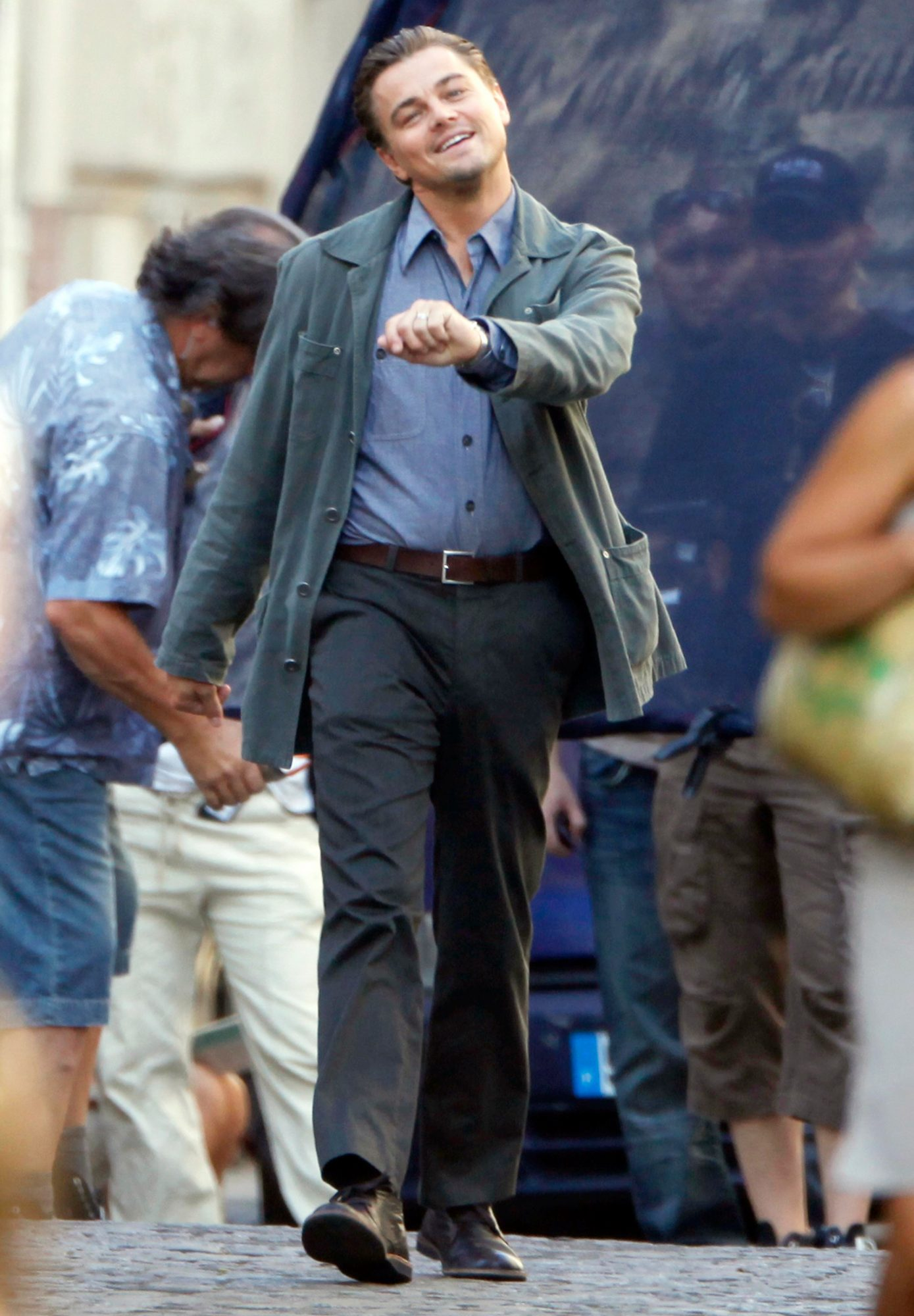 And walks like this in real life.