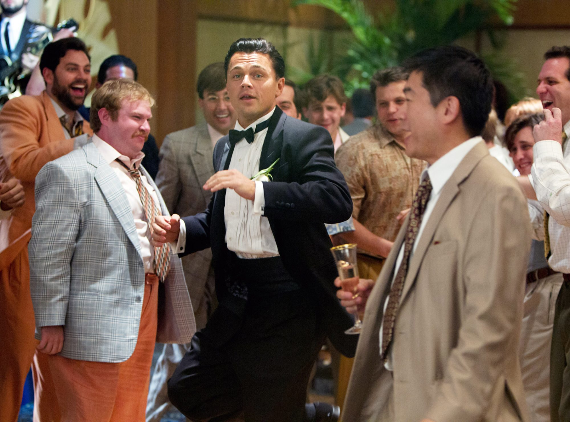 He charmed us with his moves inWolf of Wall Street.