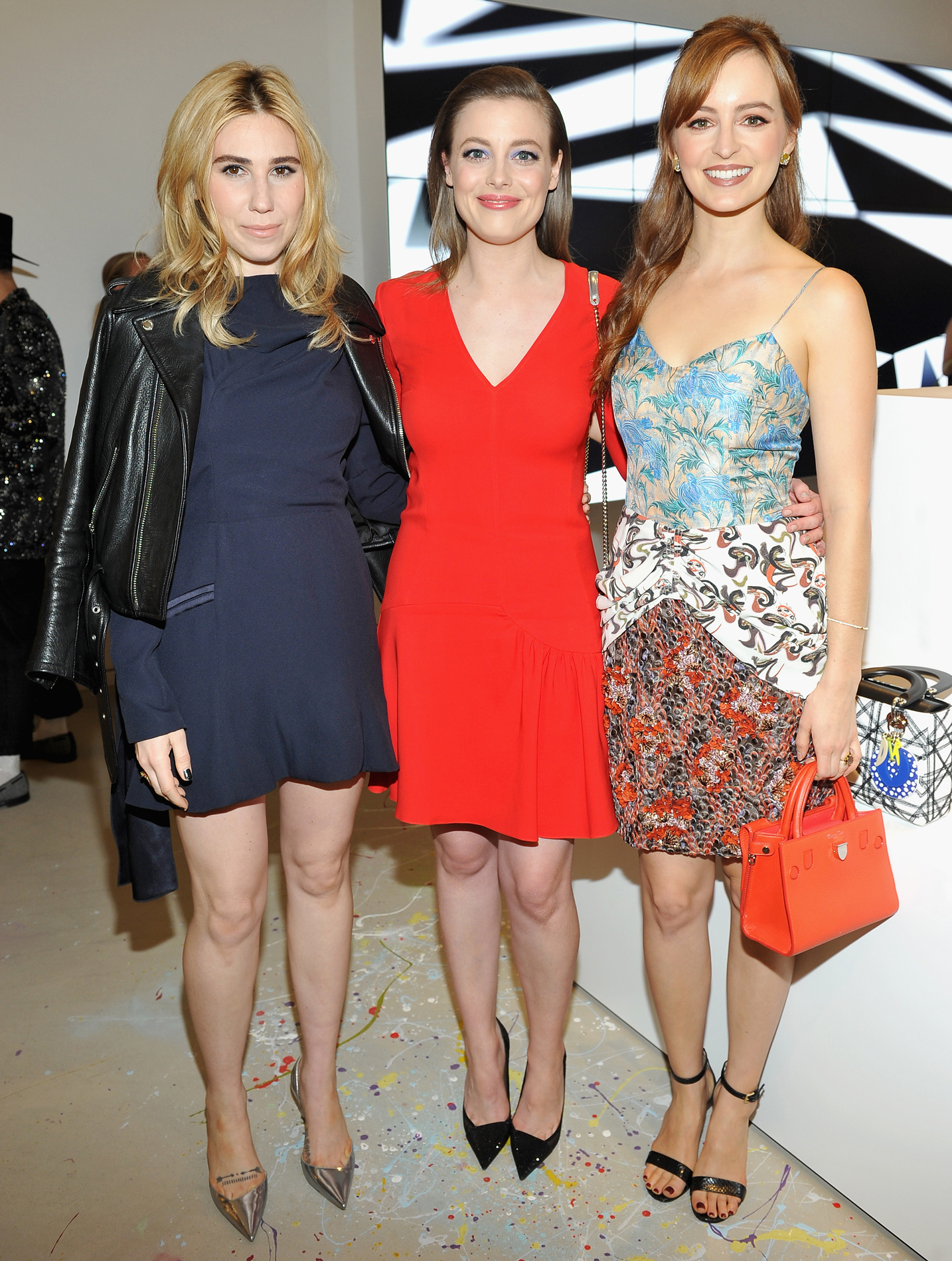 Zosia Mamet, Gillian Jacobs and Ahna O'Reilly